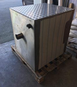 Large Cuboid Commercial Kitchen Stainless Steel Grease Trap